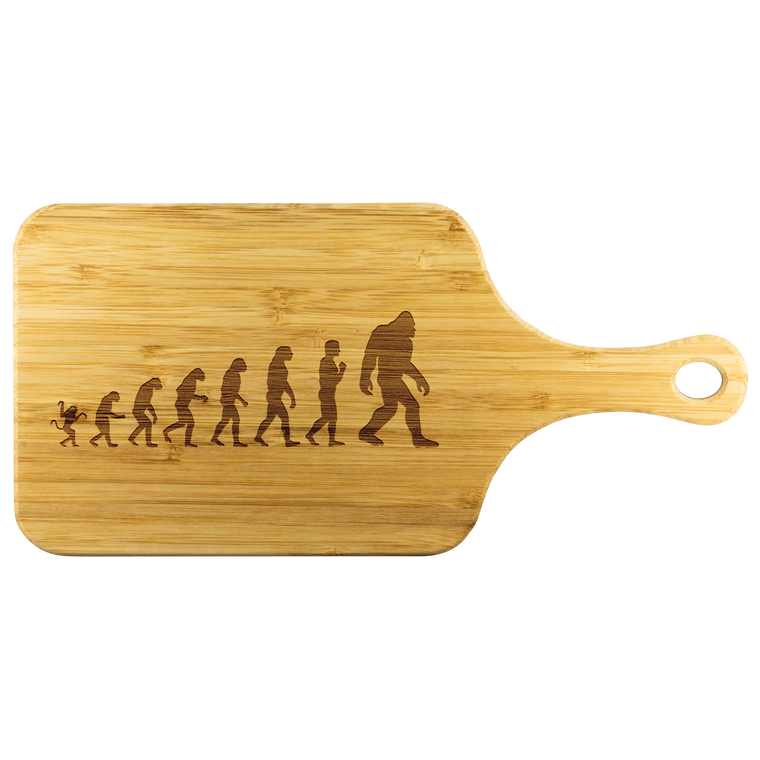 Evolution of Bigfoot Cutting Board