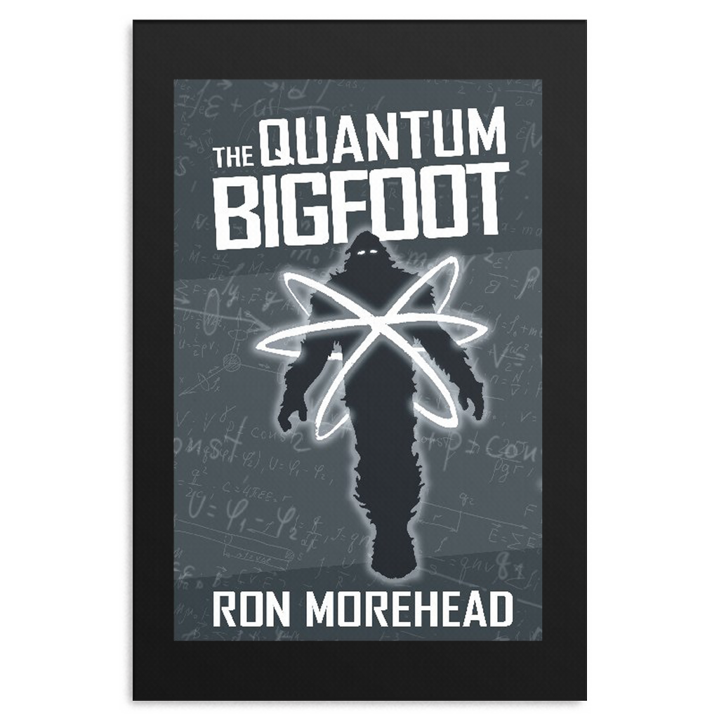 The Quantum Bigfoot Wall Canvas
