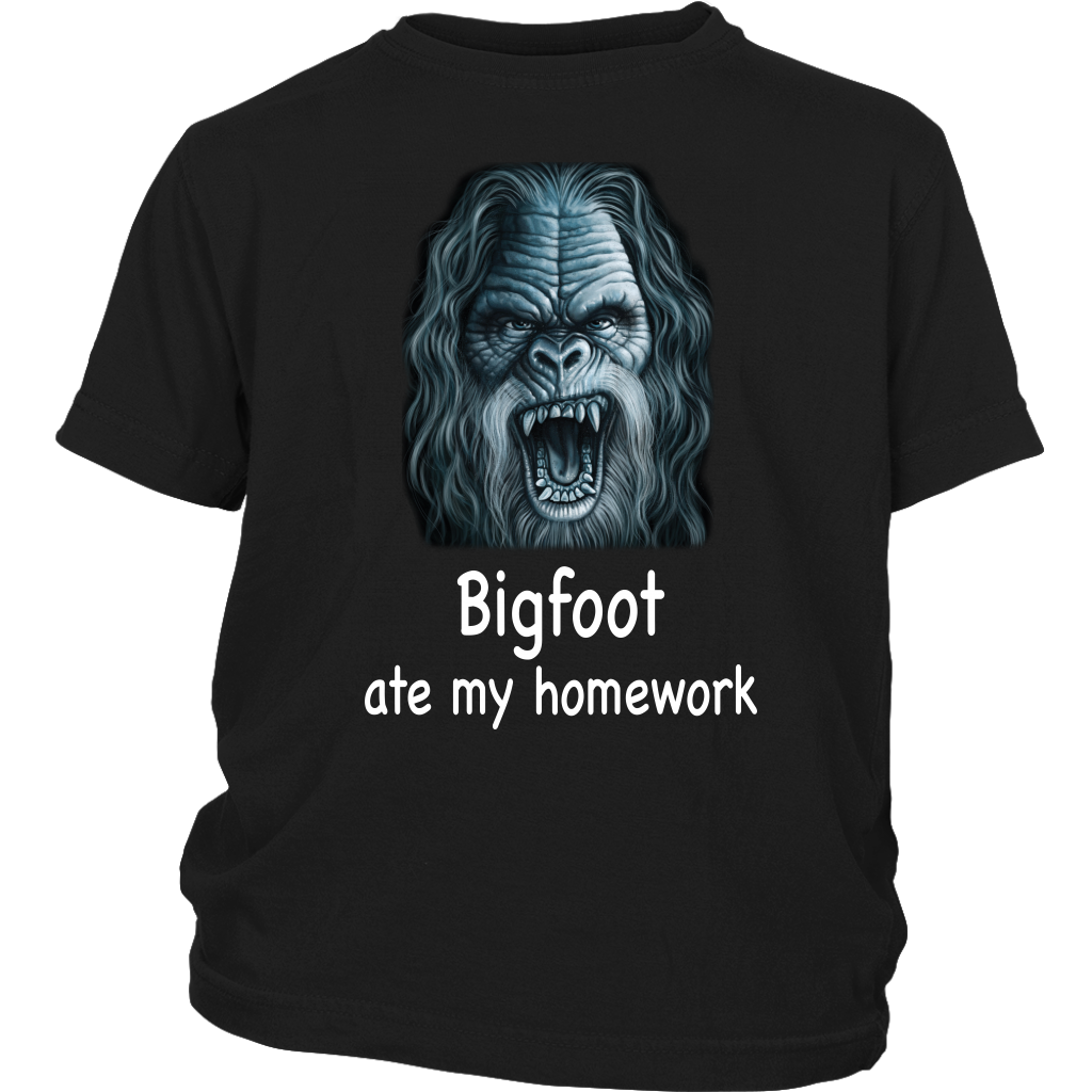 Bigfoot Ate My Homework Kids