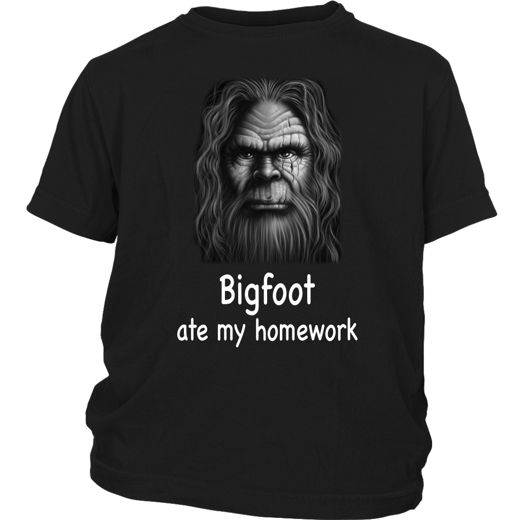 Bigfoot Ate My Homework Nice