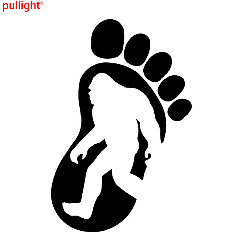 Sasquatch Bigfoot Vinyl Decals
