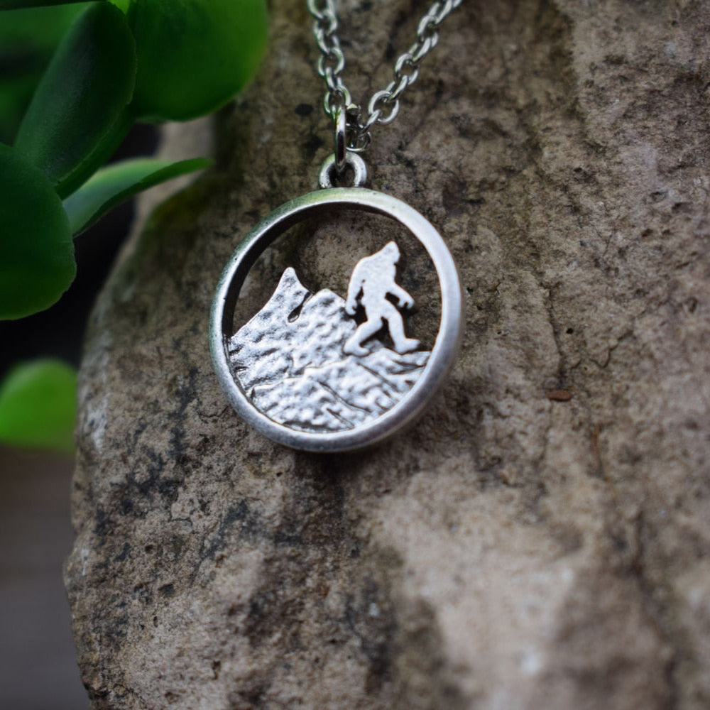 Bigfoot Mountain Necklace