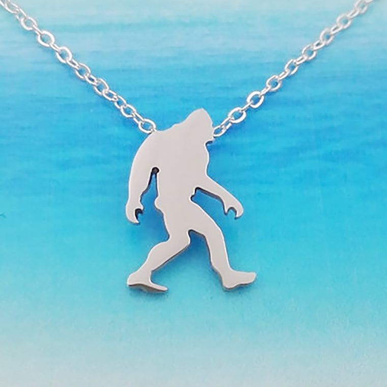 Bigfoot Stainless Steel Necklace