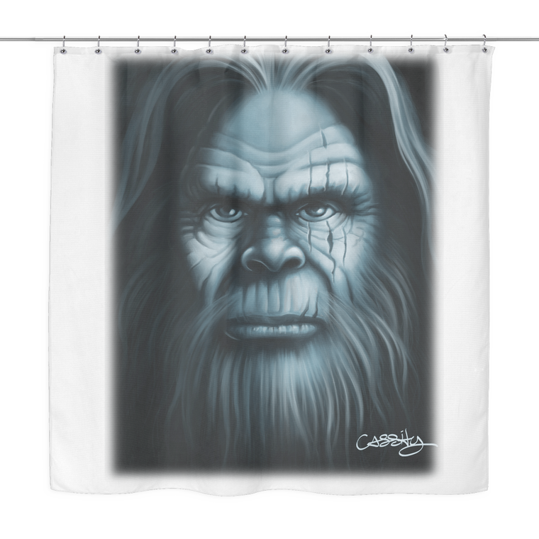 Sasquatch Shower Curtain