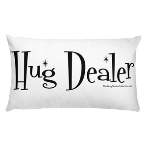 "Fluffy Classic ""Hug Dealer""  Pillow"