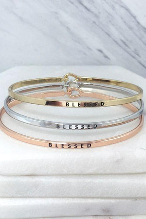 Blessed Rose Gold Bracelet