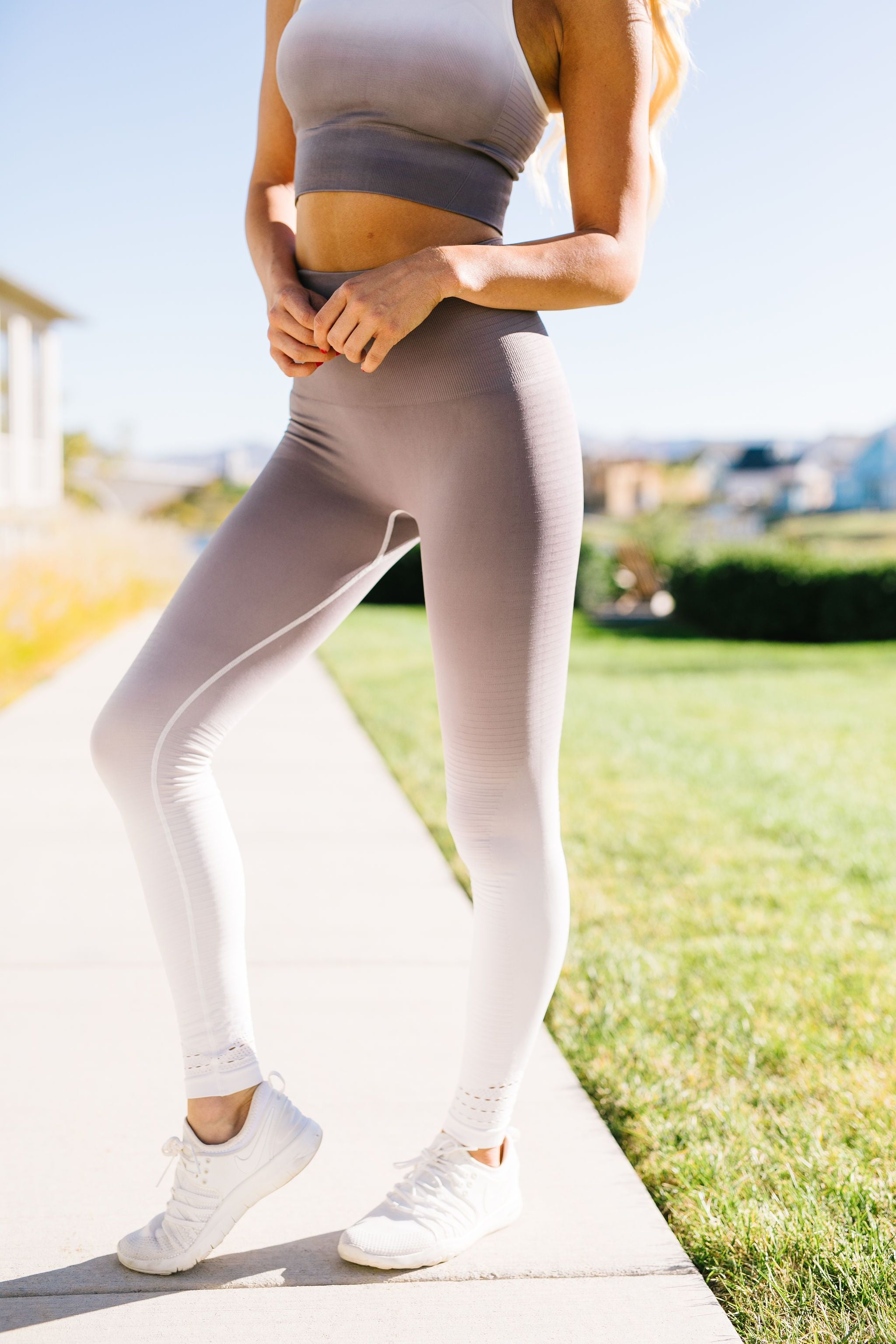 Fade Away Ombre Athletic Leggings