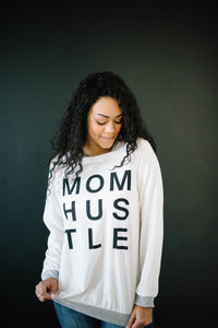 Mom Hustle in White