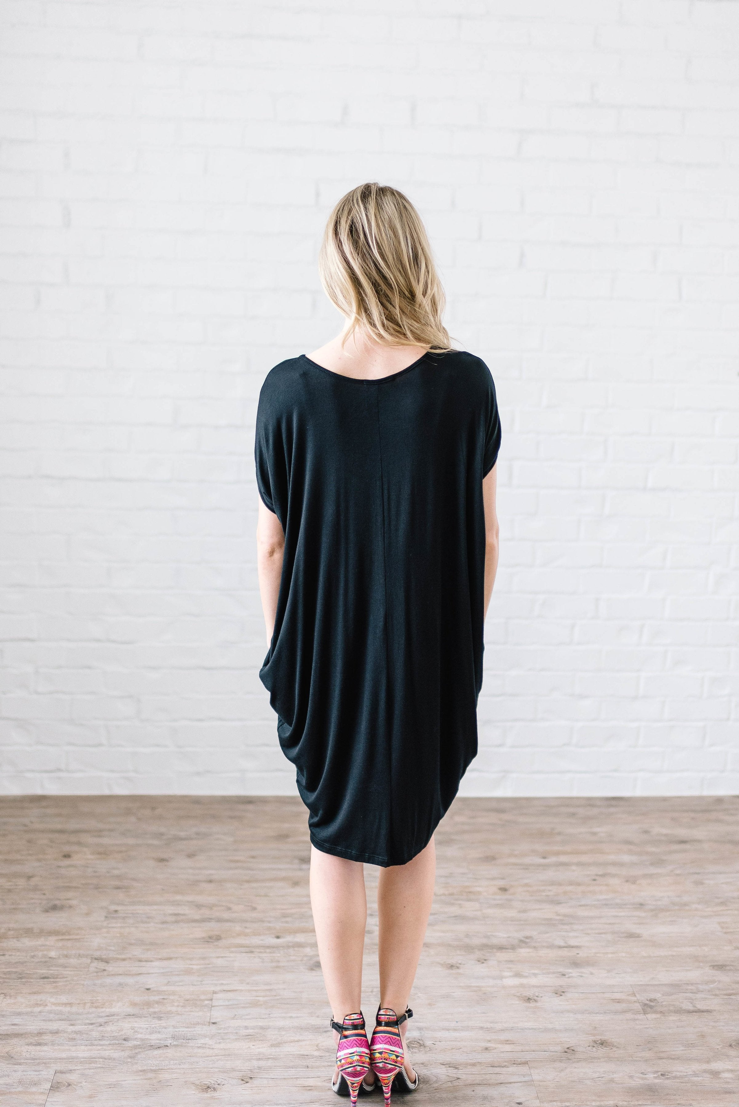 Stay Simple Black Dress