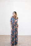 The Hannah Floral Maxi - Warehouse Sale