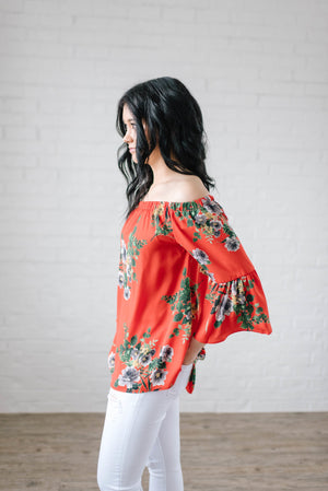 The Natalie Floral Top