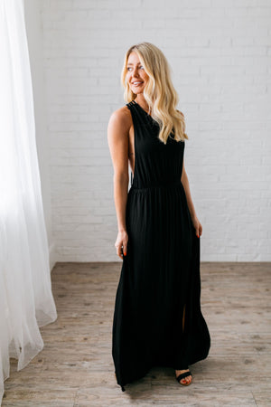 Topaz Bay Maxi In Black