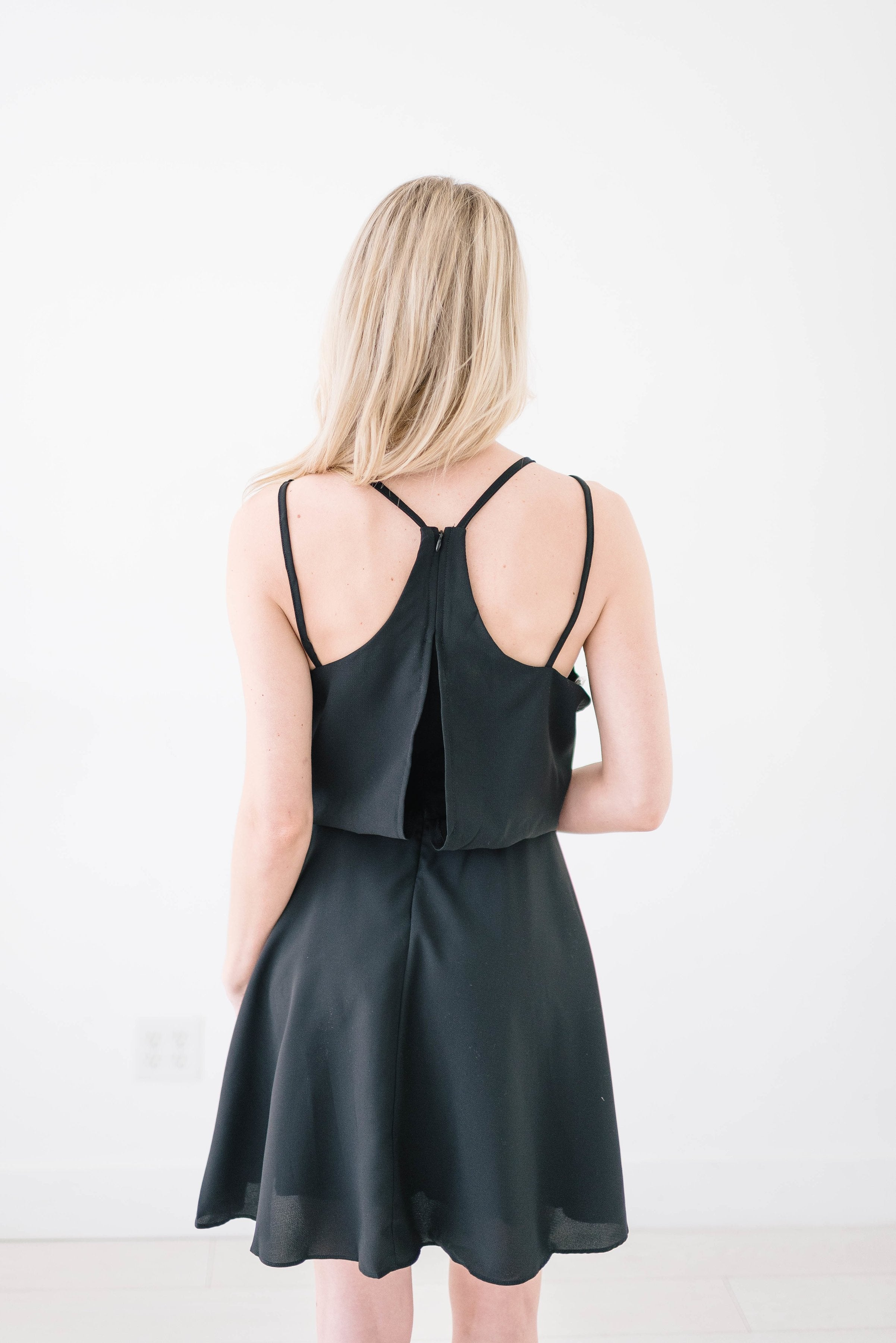Up For Anything Black Dress