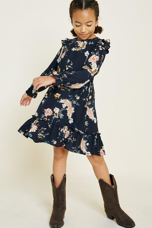 Girl's English Garden Dress