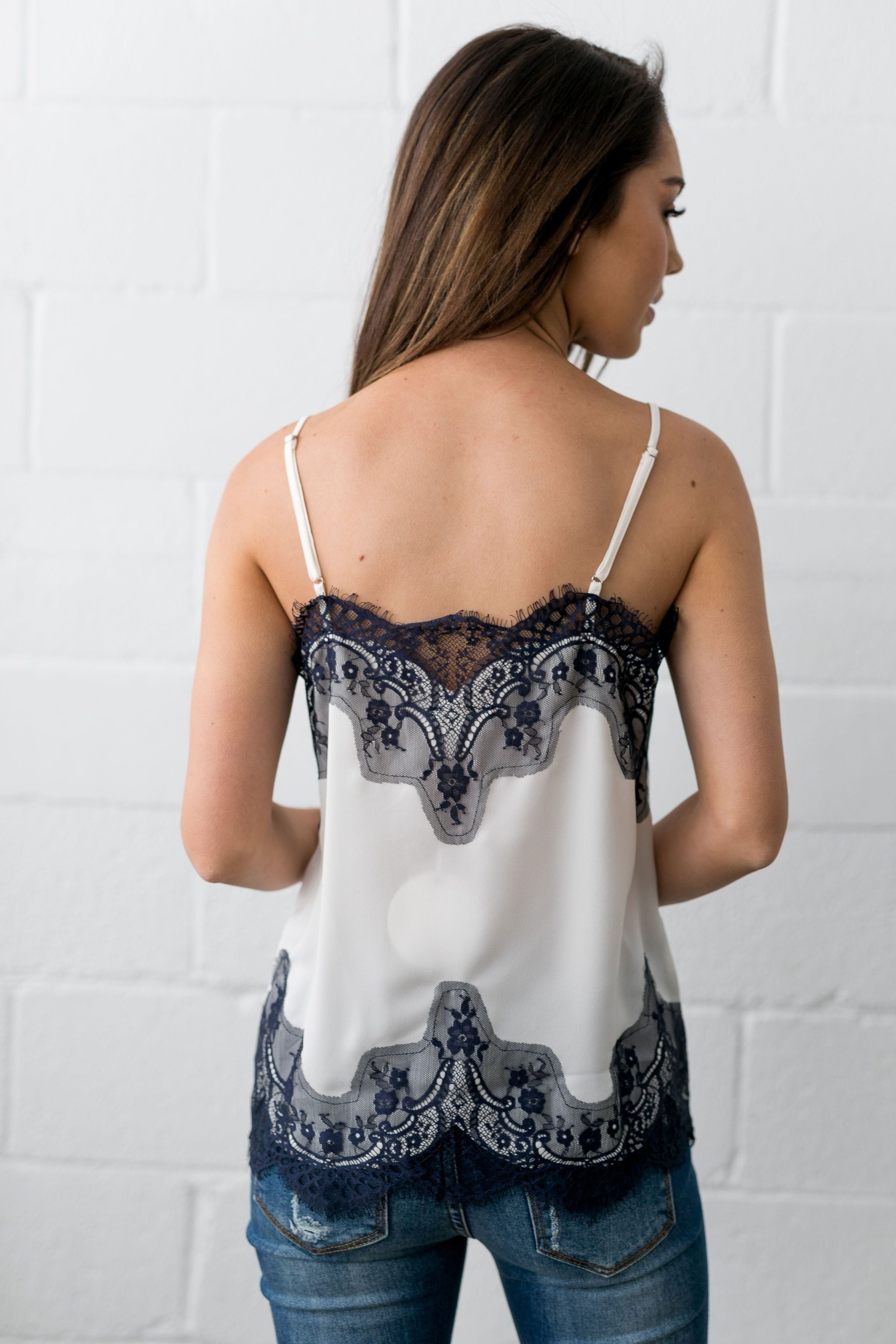 Chantilly Lace Camisole - ALL SALES FINAL