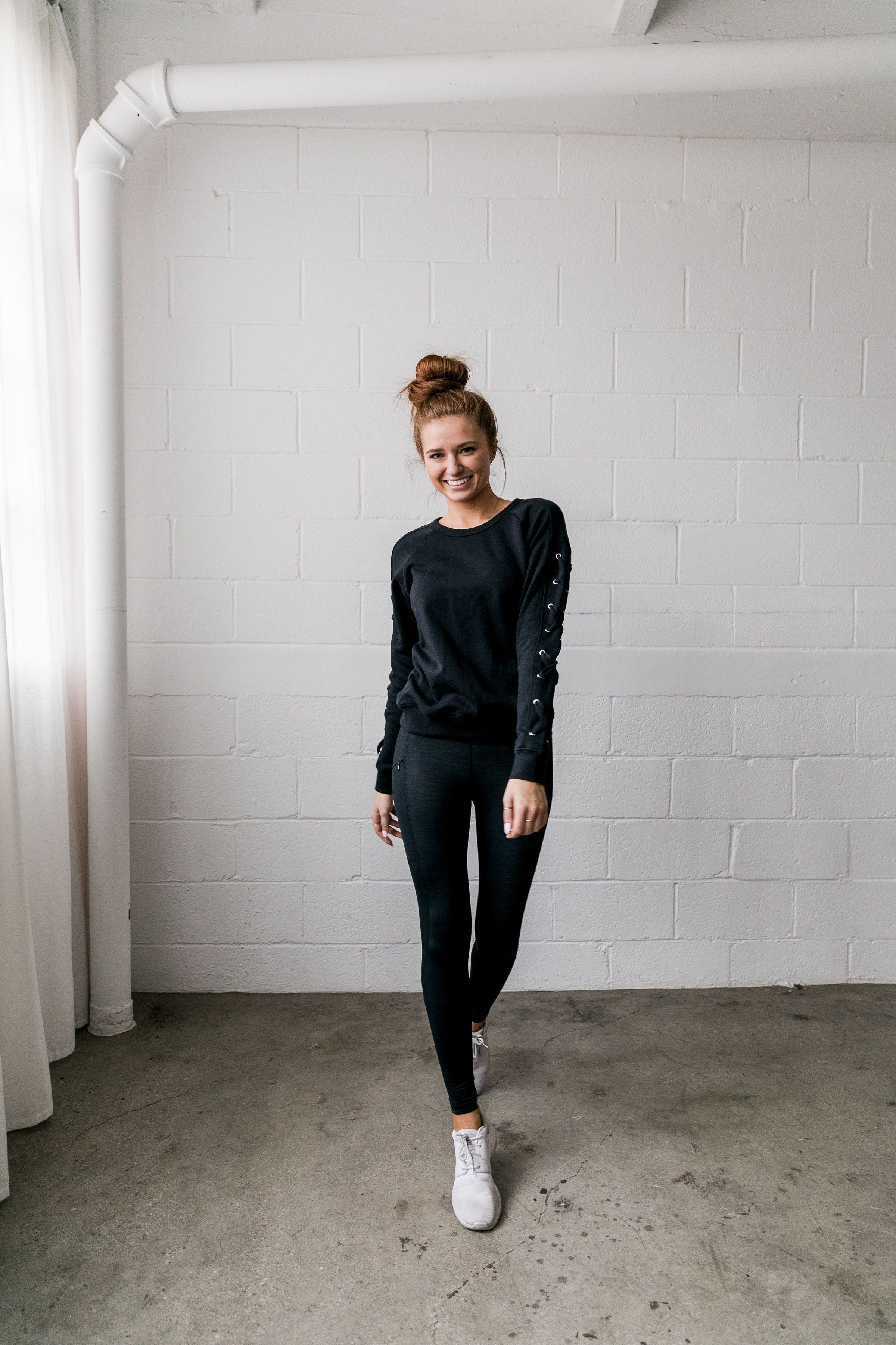 Criss Crossfit Sweatshirt In Black