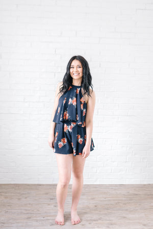Roxy Floral Romper