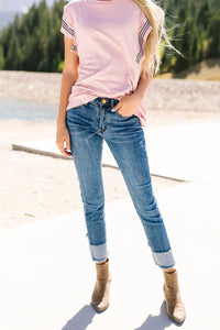 Cute Cuffed + Cropped Jeans