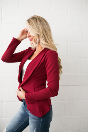 Frills And Thrills Blazer