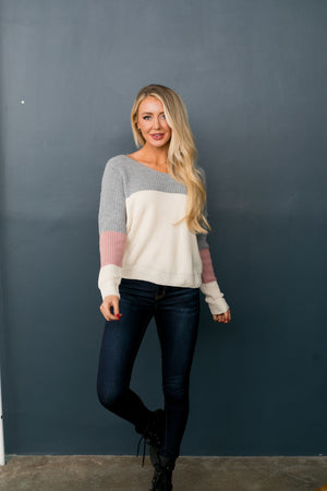 Twists & Turns Sweater - ALL SALES FINAL