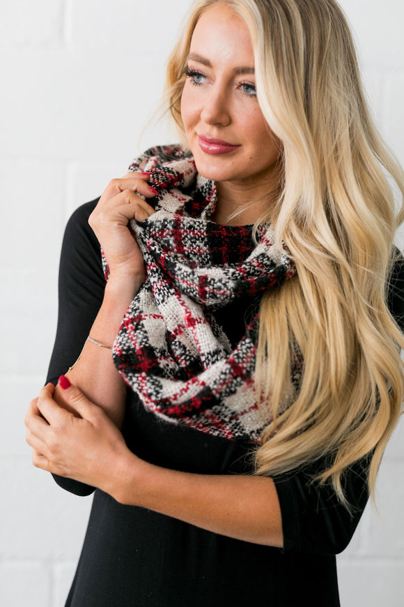 Forever Plaid Infinity Scarf