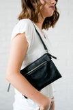 Onyx Vintage Crossbody Purse