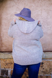 Right Start Oatmeal Hooded Cardigan