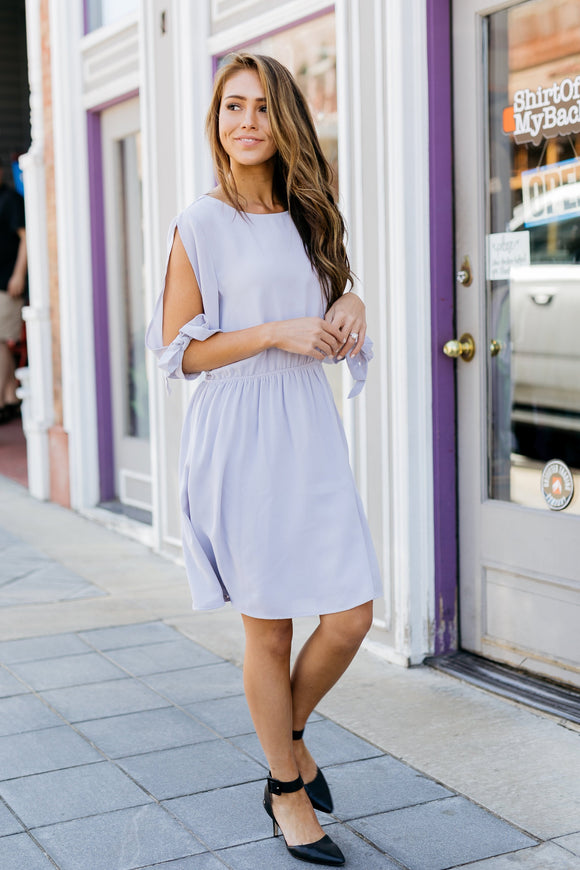 Sheridan Open Sleeve Dress