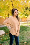 Soft Like Butter Chenille Top In Mustard - ALL SALES FINAL