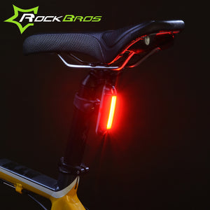ROCKBROS LED-USB Rechargeable Waterproof Tail Light