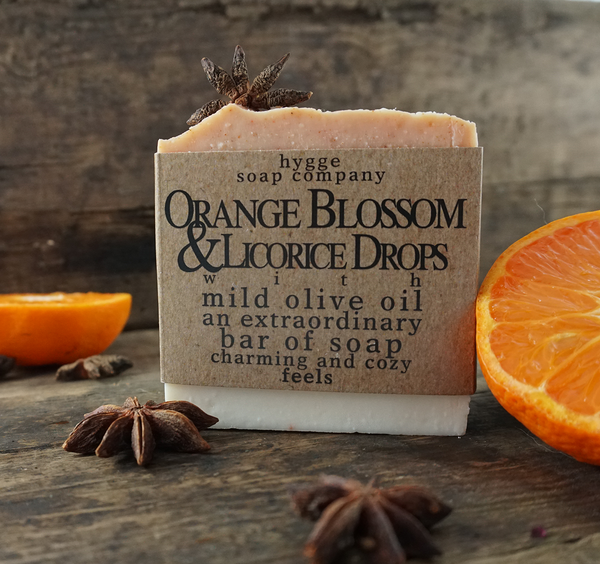 Orange Blossom & Licorice Dreams Soap