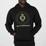 Righteous Lion Logo Hoodie Black