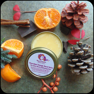 Chocolate Orange Hand Salve - 2 0z
