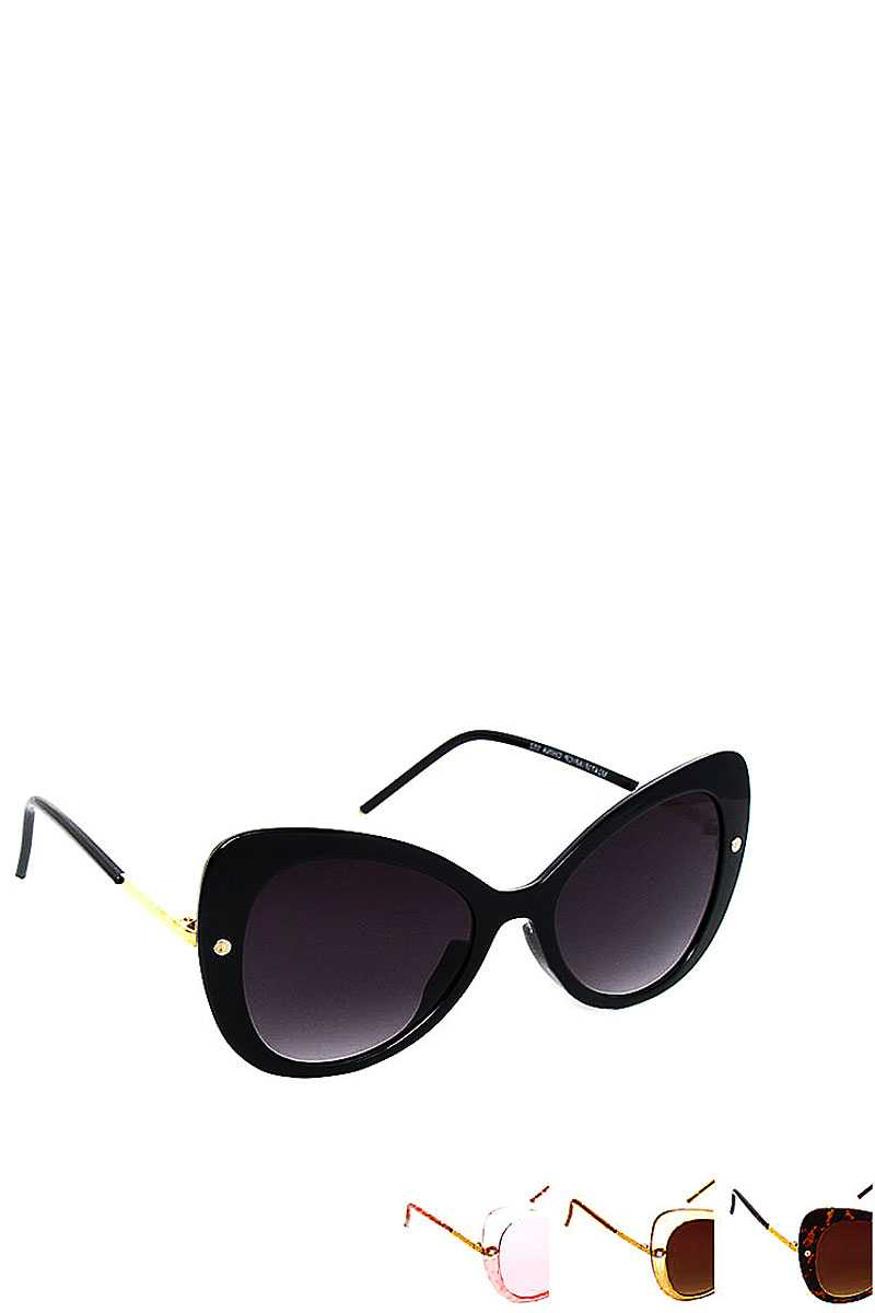 Stylish Fashion Butterfly Big Eye Sunglasses