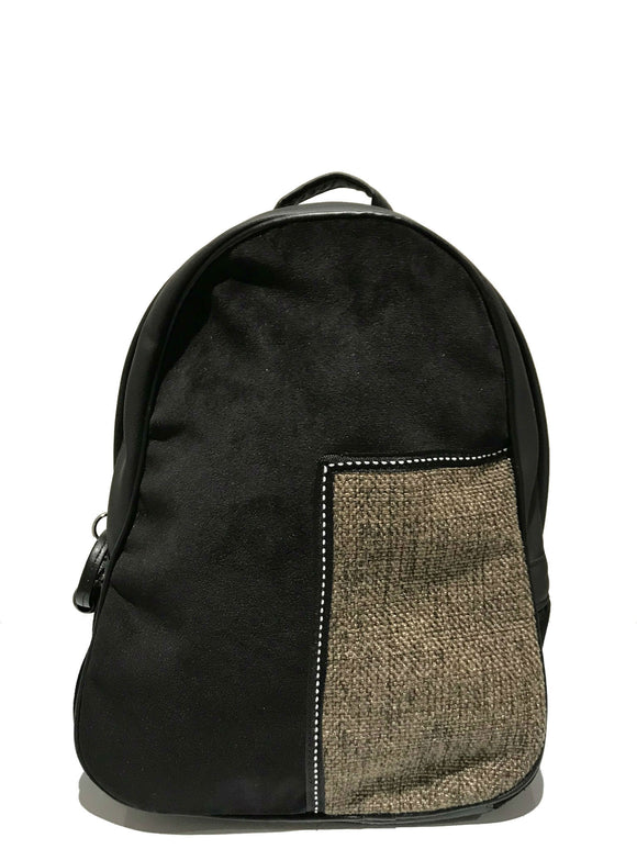 Black Two tone Backpack