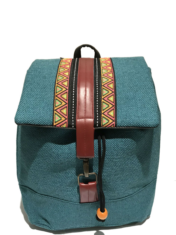 Blue Ribbon Front Backpack