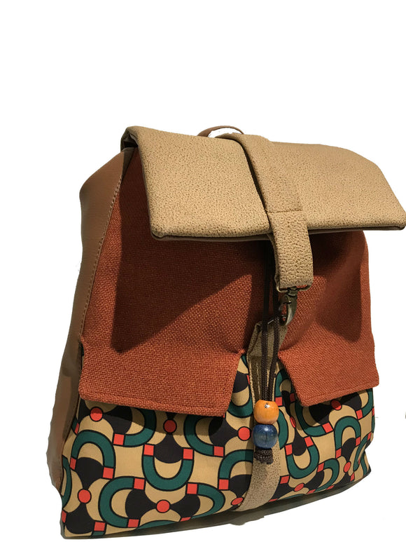 'Lulu' printed backpack