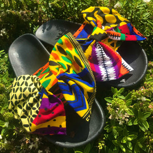 Chimdalu Print Sliders