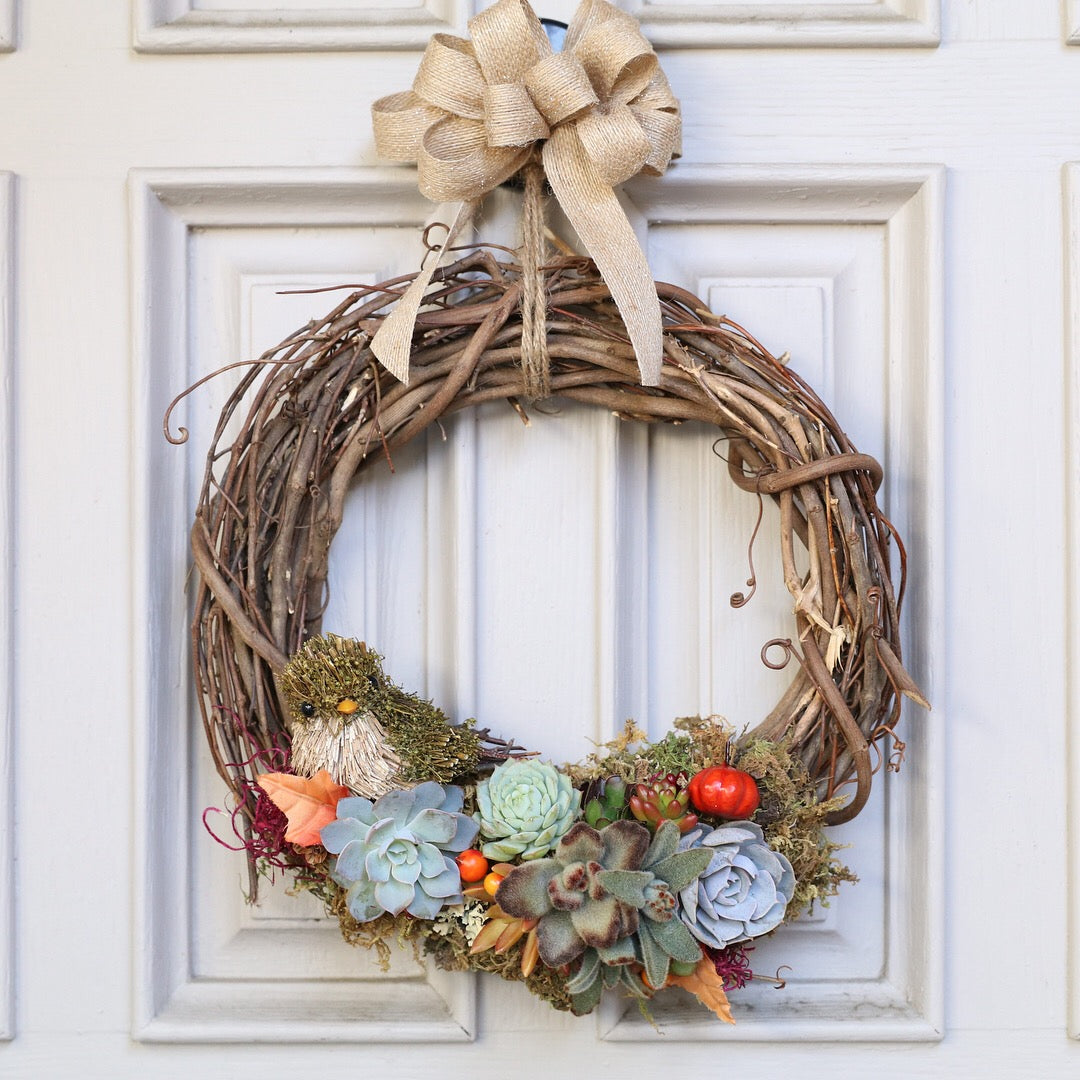 DIY wreath by succy crafts