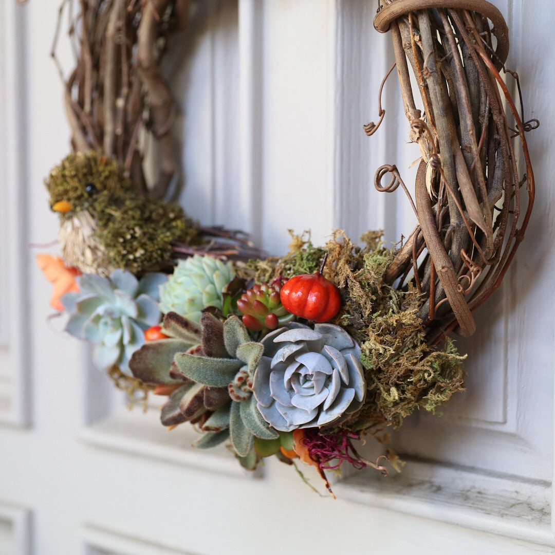 wreath DIY simple by succy crafts