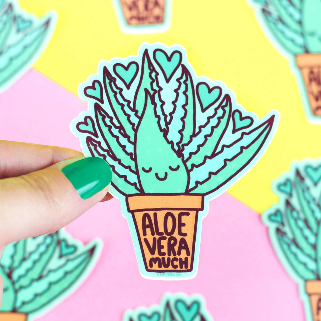 Aloe Vera Much Vinyl Sticker