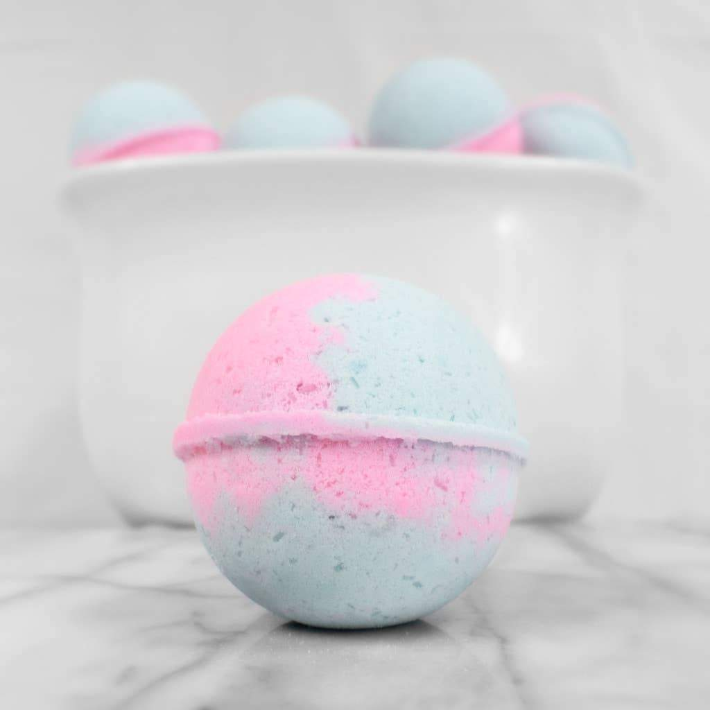 Cotton Candy - Bath Bomb - for sale by Succy Crafts