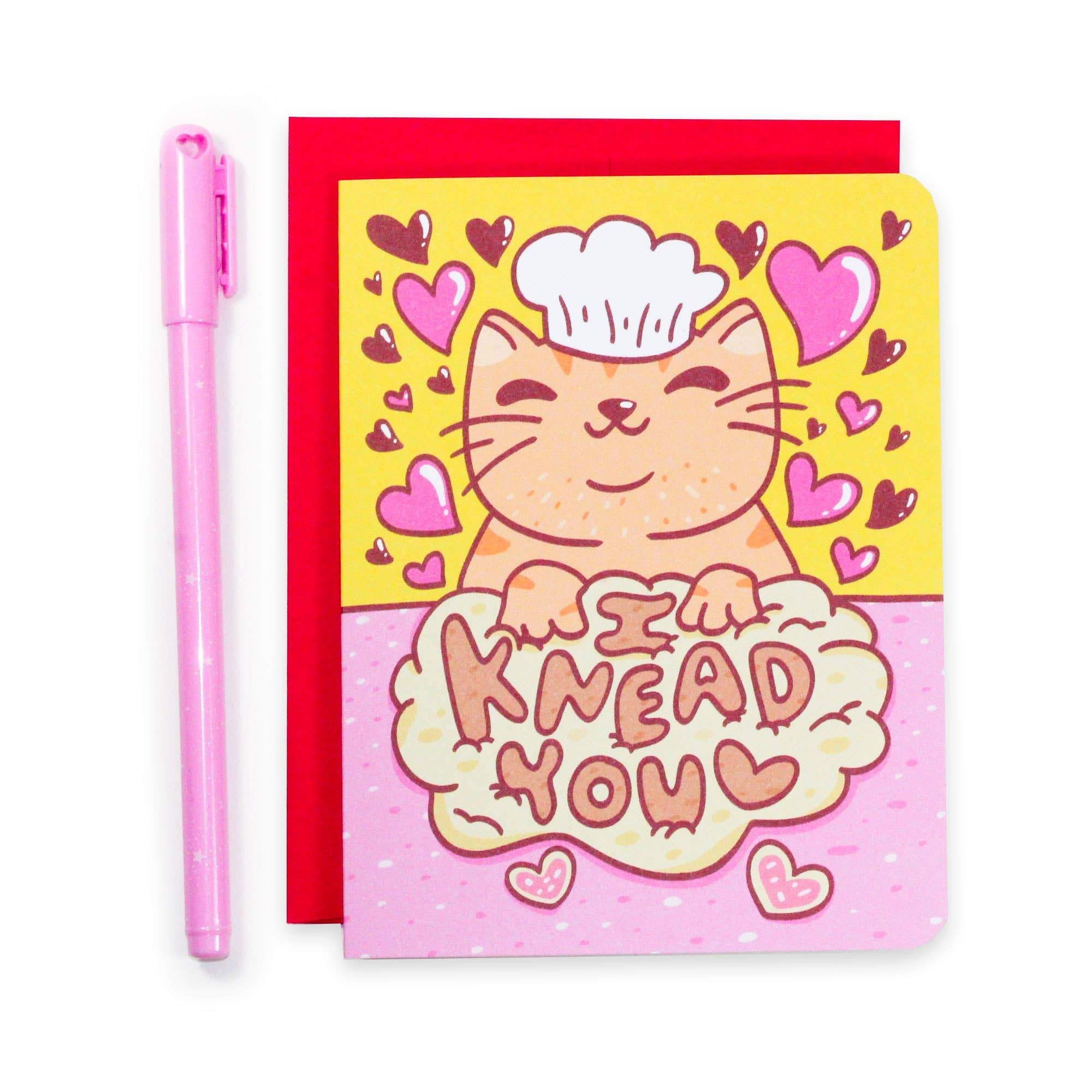 I Knead You Valentine's Day Card