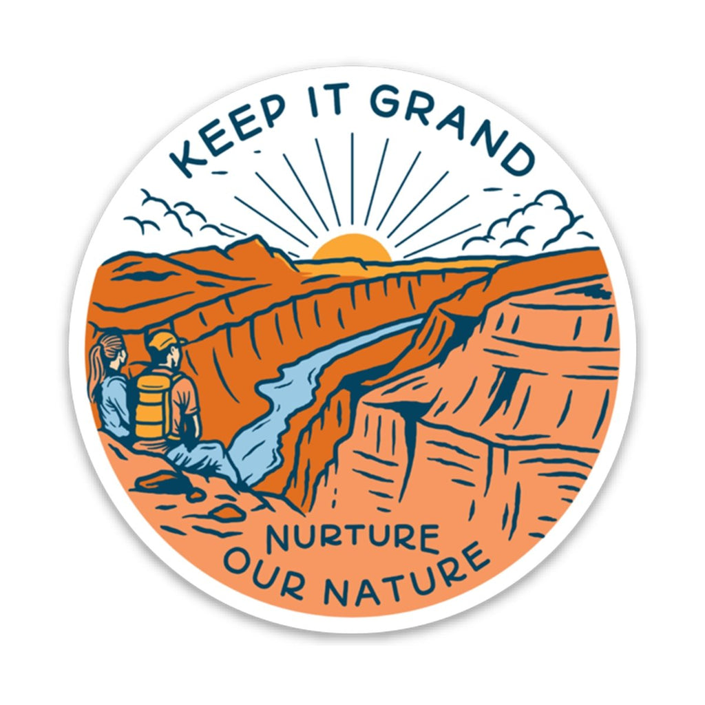 Keep it Grand Sticker