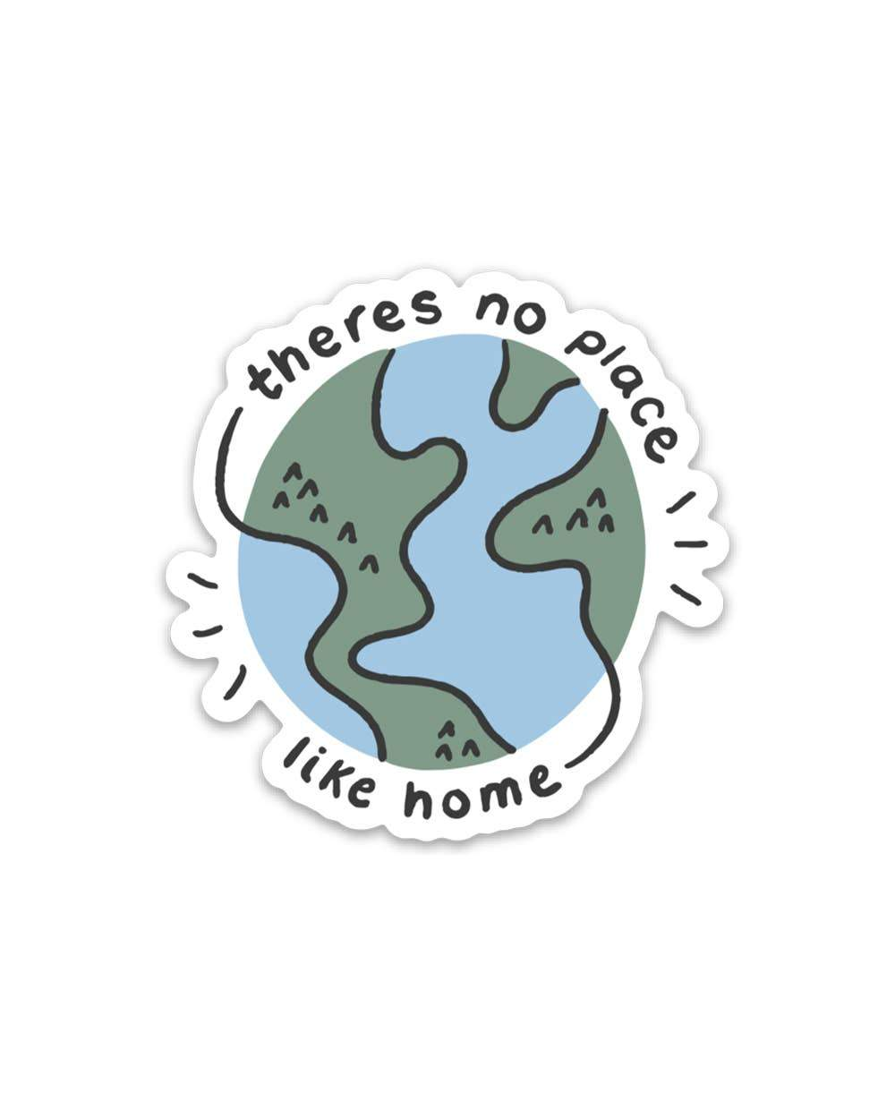 No Place Like Home | Sticker - for sale by Succy Crafts