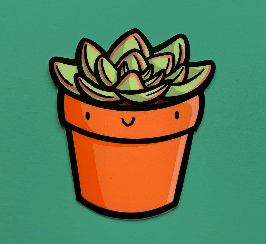 Succulent Vinyl Sticker - for sale by Succy Crafts