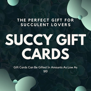Succy Crafts Gift Card - for sale by Succy Crafts