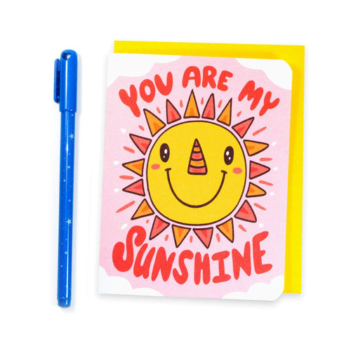 You Are My Sunshine Sunny Friendship Card - for sale by Succy Crafts