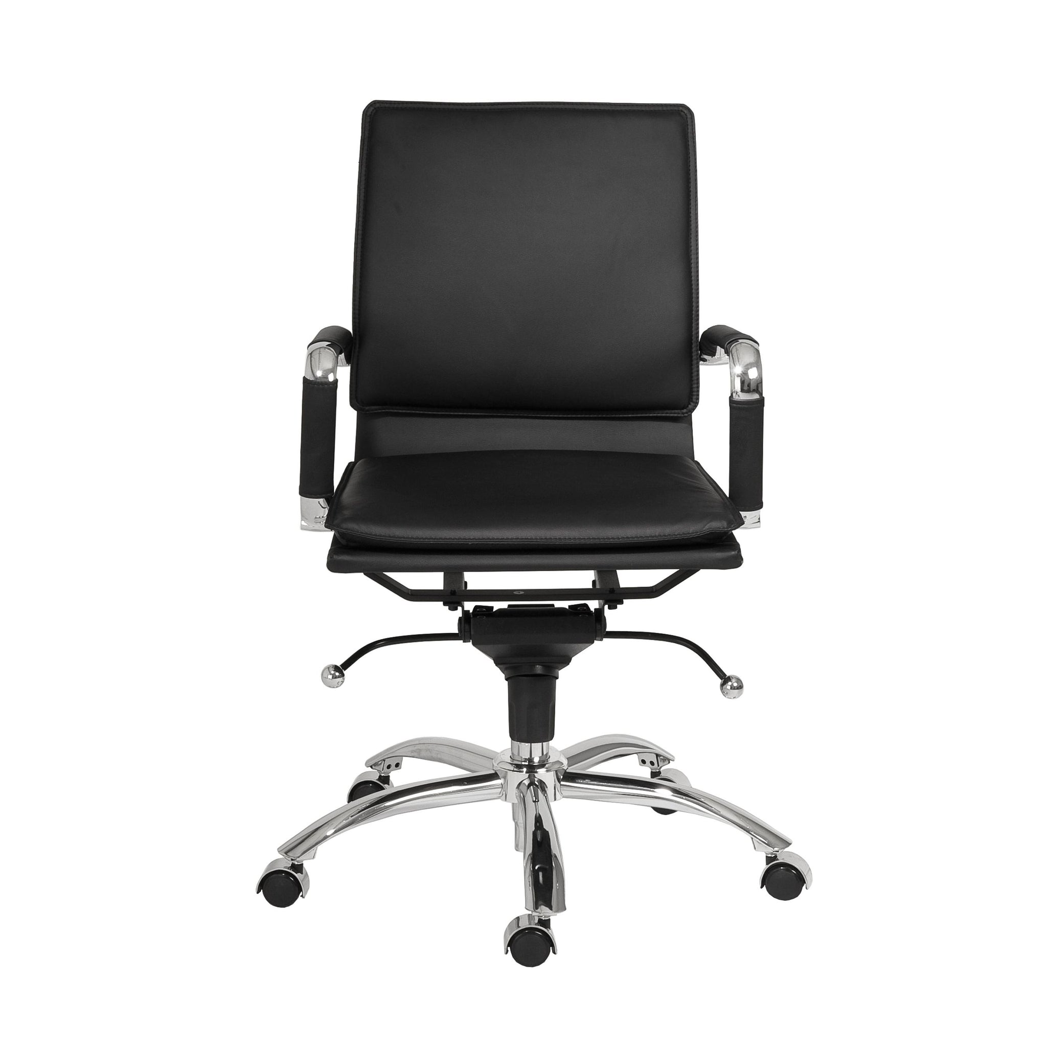 Gunar Pro Low Back Office Chairs With Arms And Wheels Fast
