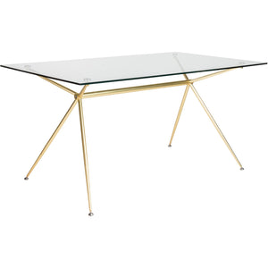 ATOS 60-INCH DINING TABLE - Fast Ship Furniture